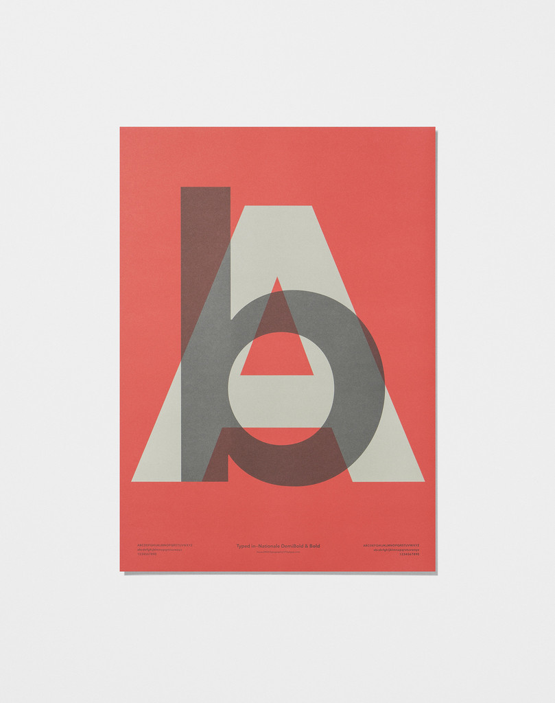 Playtype In Love With Typography 4 Poster bA