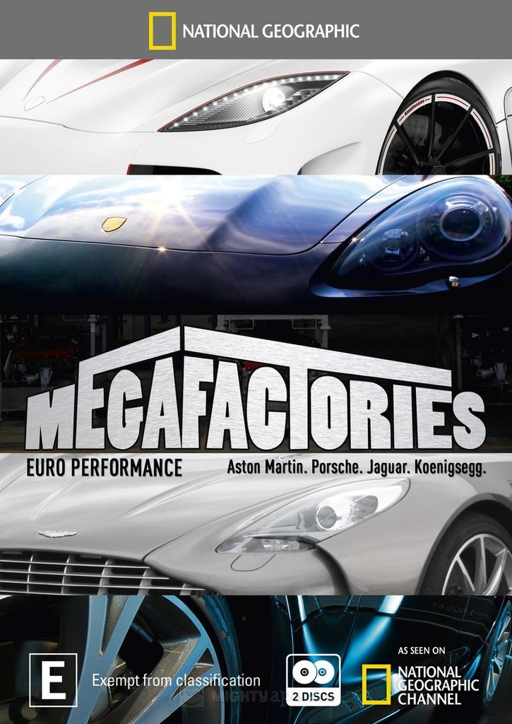 Megafactories: Euro Performance DVD