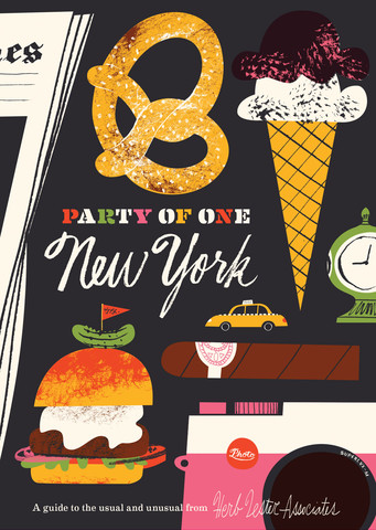 New York Map: Party Of One