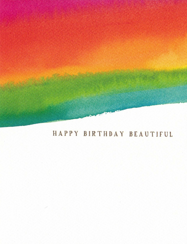 E Frances Greeting Card: Beautiful Birthday