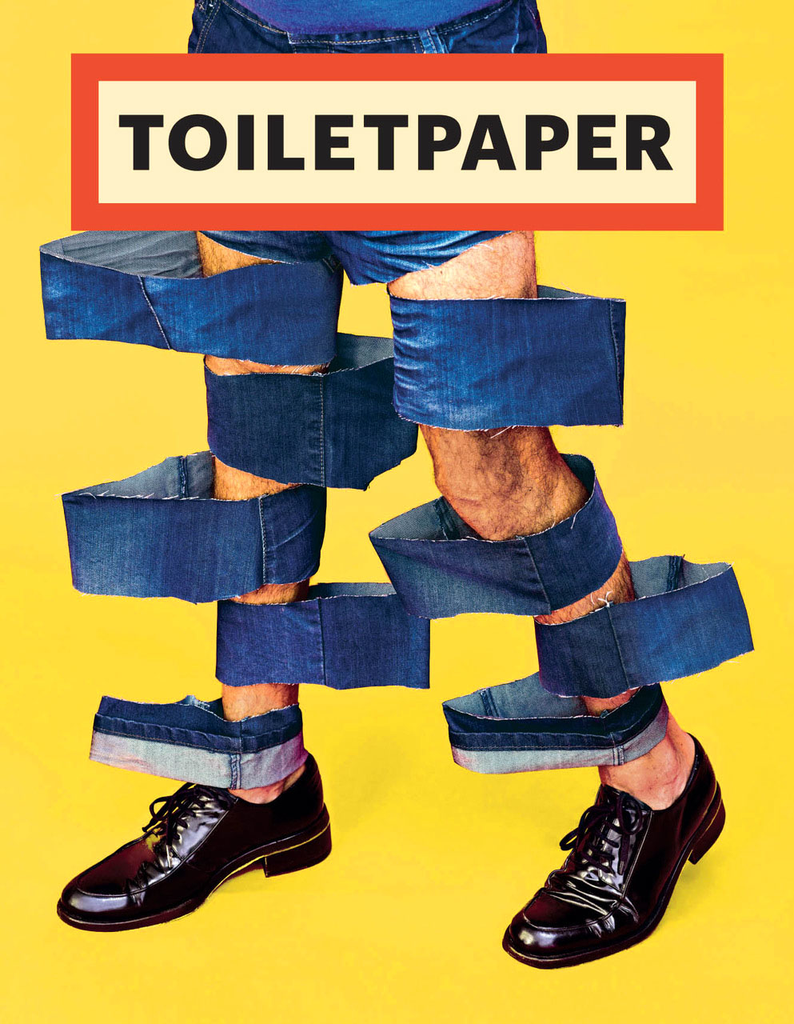 Toilet Paper Magazine.Toilet Paper Magazine 14 Beautiful Pages
