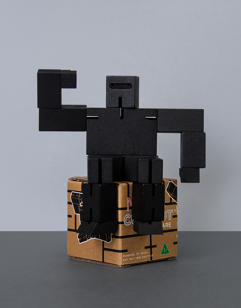 Cubebot Small: Black