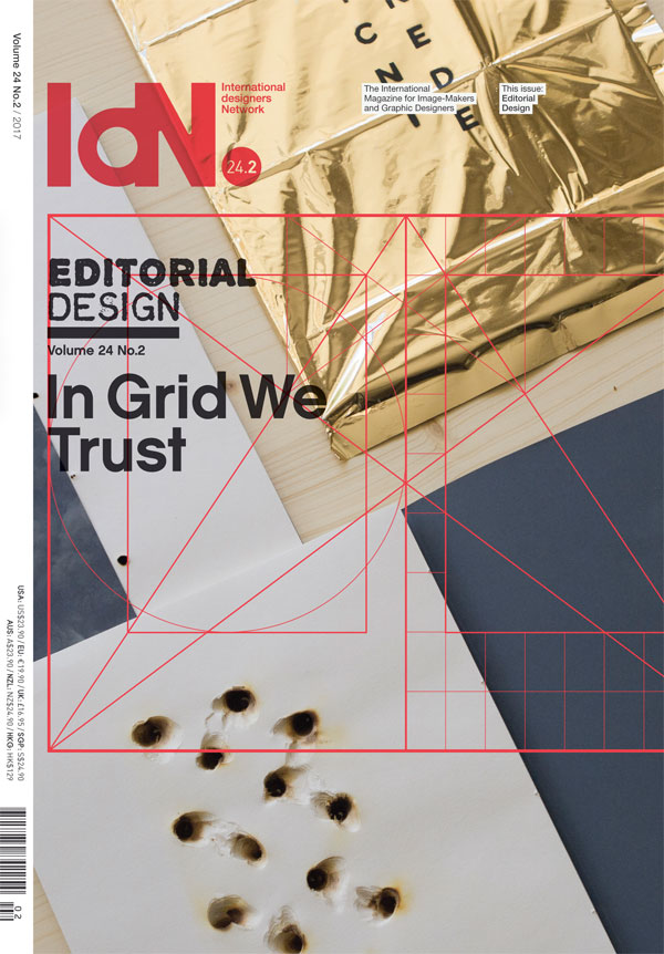 IdN v24n2: Editorial Design: In Grid We Trust
