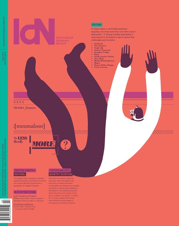 IdN v21n2 The Minimalist Issue
