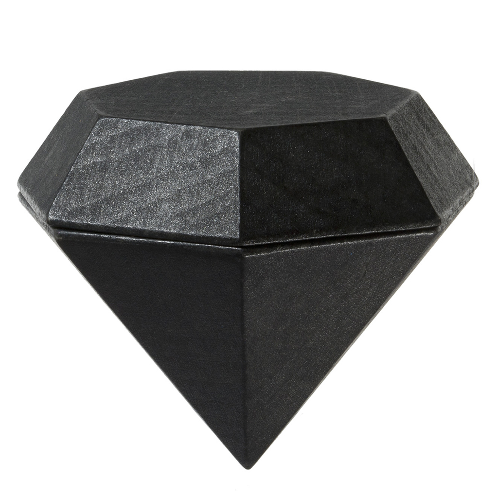 Areaware: Diamond Box Large Jewellery Box Black
