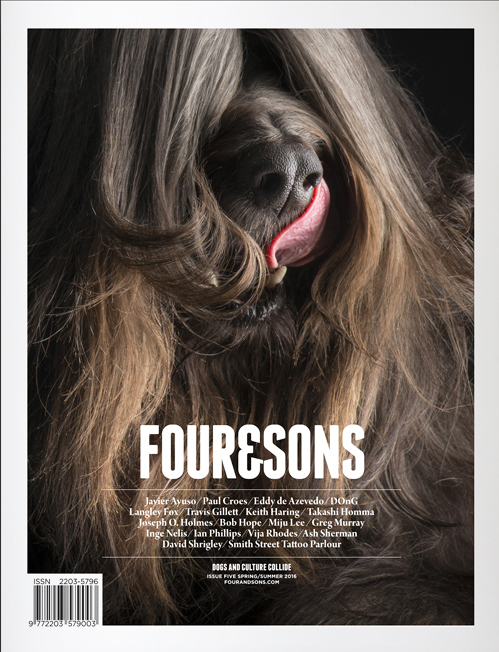 Four&Sons Issue #5: Dogs and Culture Collide