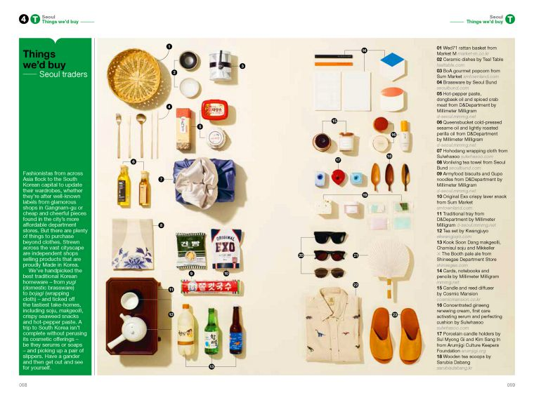 The Monocle Travel Guide Series: 28 Seoul