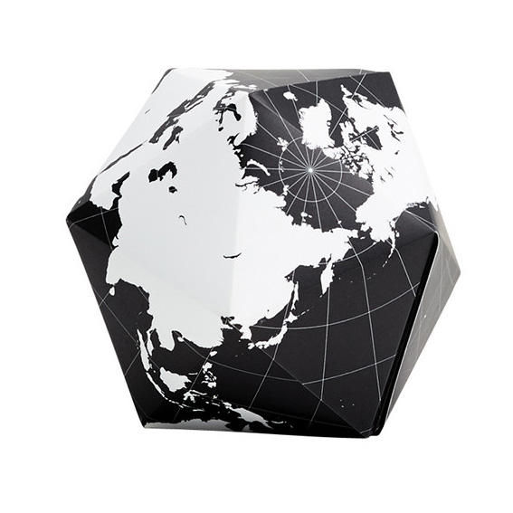 Areaware: Dymaxion Folding Globe: White