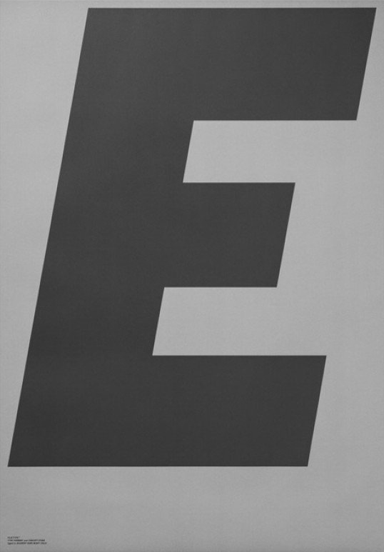 Playtype GREY Poster E