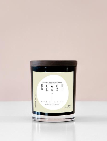 Black Blaze: Bush Walk Home Candle