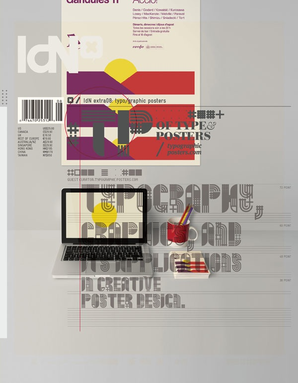 IdN Extra #8 Typo/graphic Posters