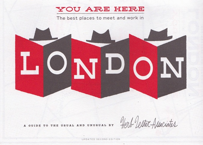 London Map: You Are Here