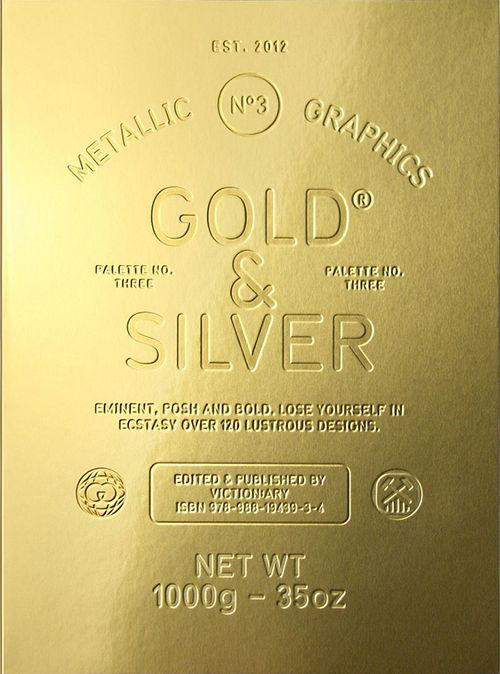 Palette No.3 Gold & Silver
