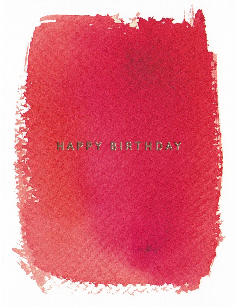 E Frances Greeting Card: Red Hot Birthday