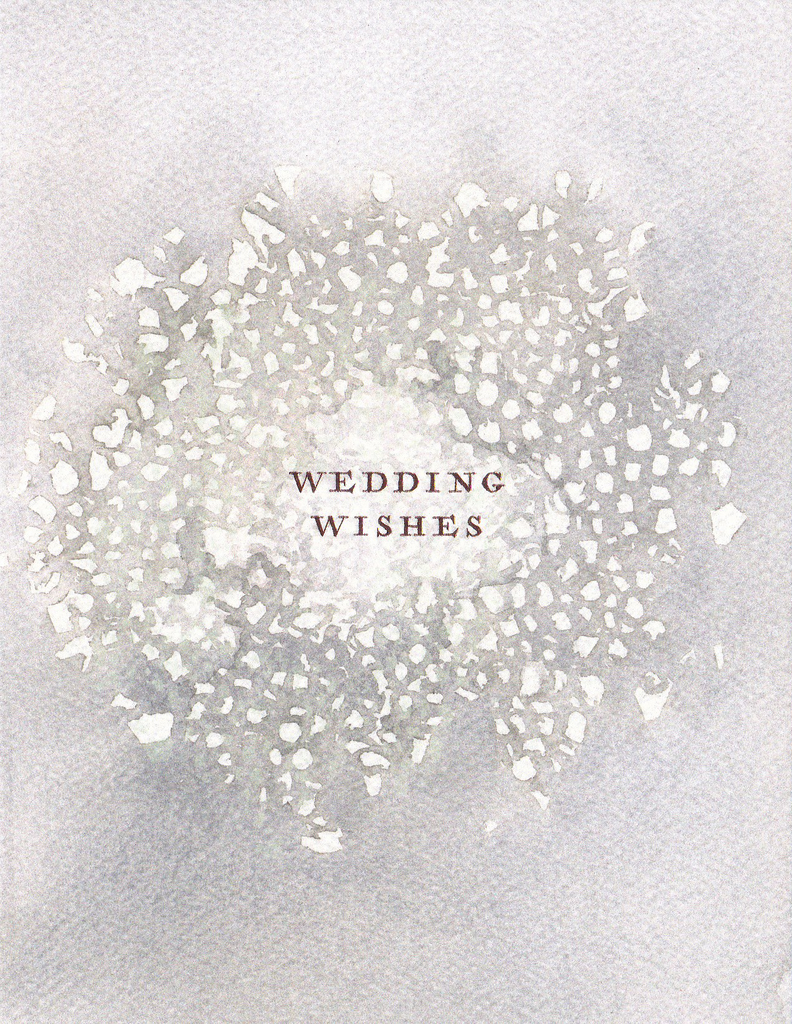 E Frances Greeting Card: Wedding Wishes