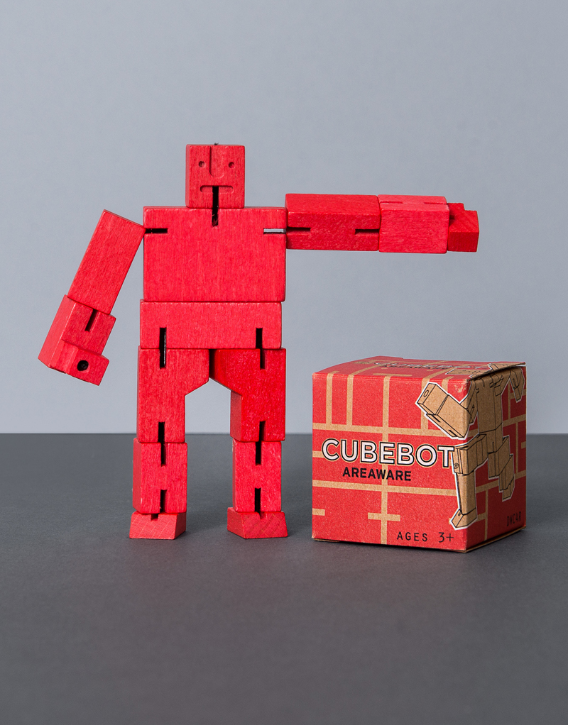 Cubebot Micro: Red