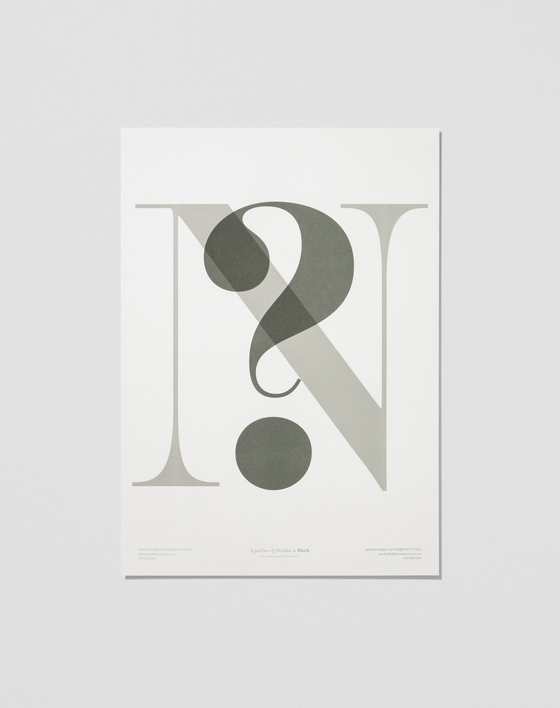Playtype In Love With Typography 4 Poster N?