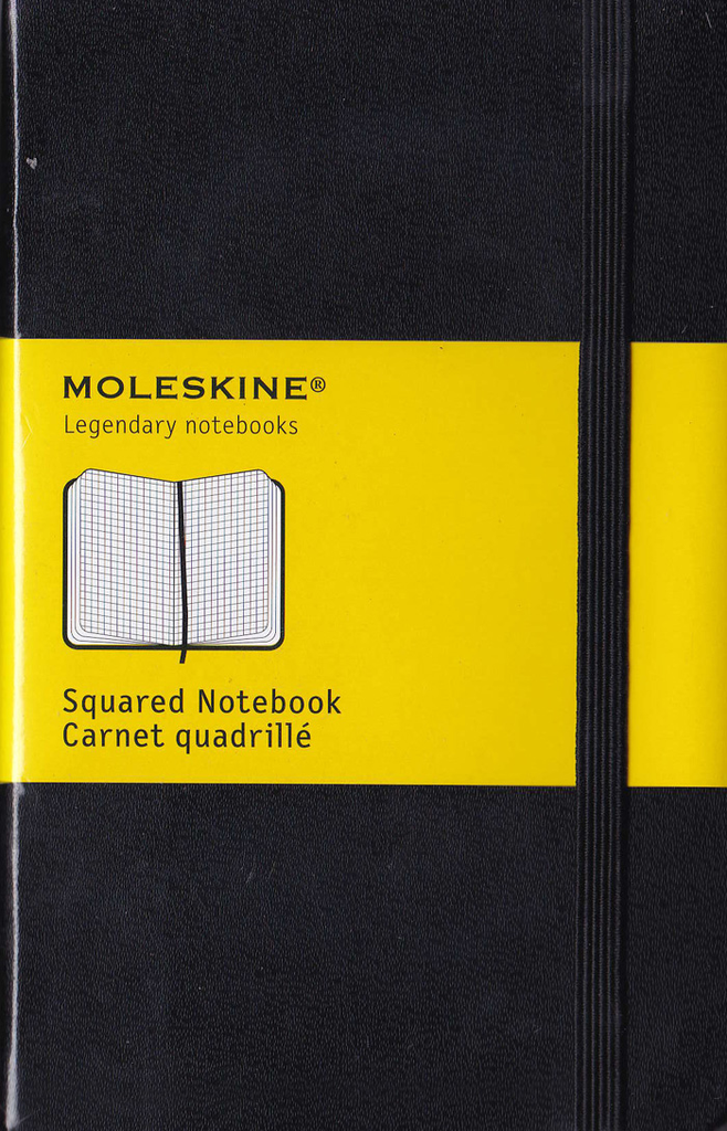 Moleskine Classic Soft Cover Notebook: Pocket: Squared: Black