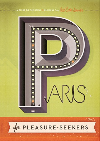 Paris Map: Paris For Pleasure Seekers