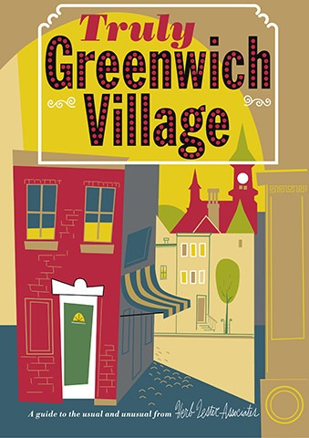 Greenwich Map: Truly Greenwich Village