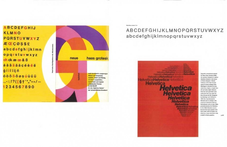 Twentieth Century Type and Beyond – Beautiful Pages