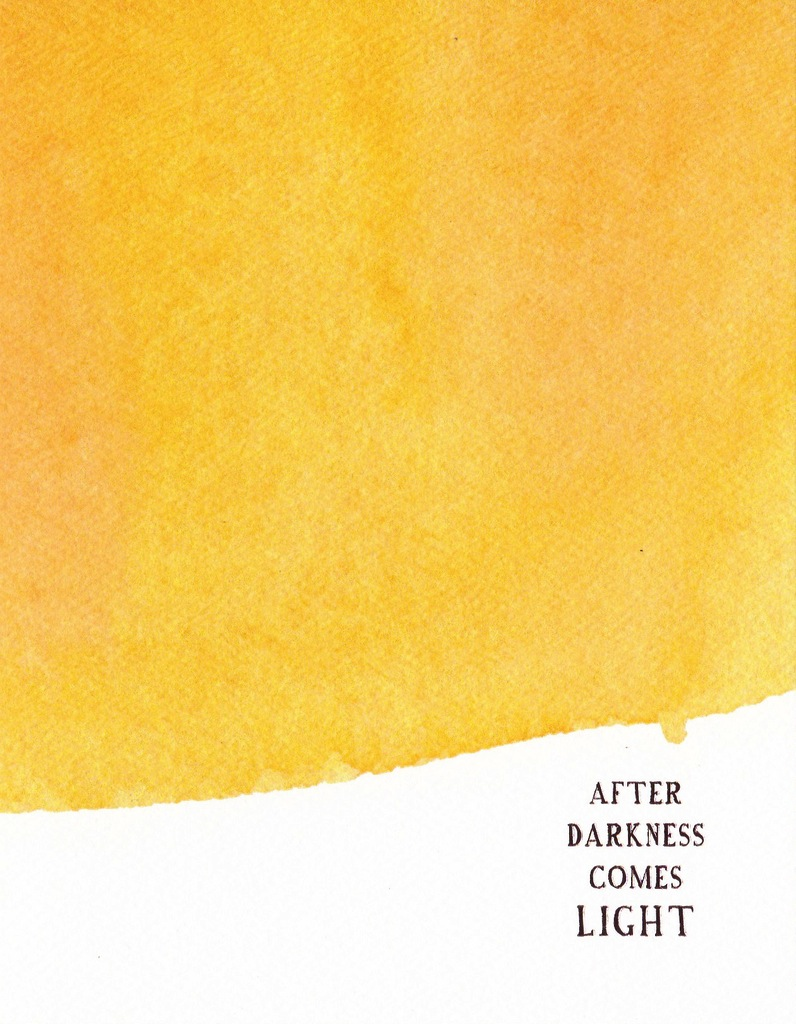 E Frances Greeting Card: After Darkness