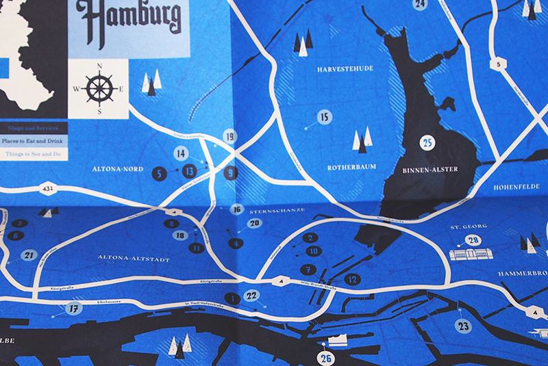 Herb Lester Hamburg Map: Authentically Hamburg