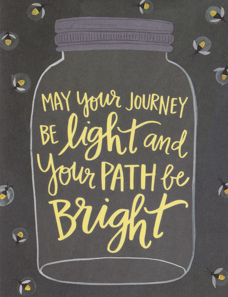 One Canoe Two Greeting Card: Bright Path