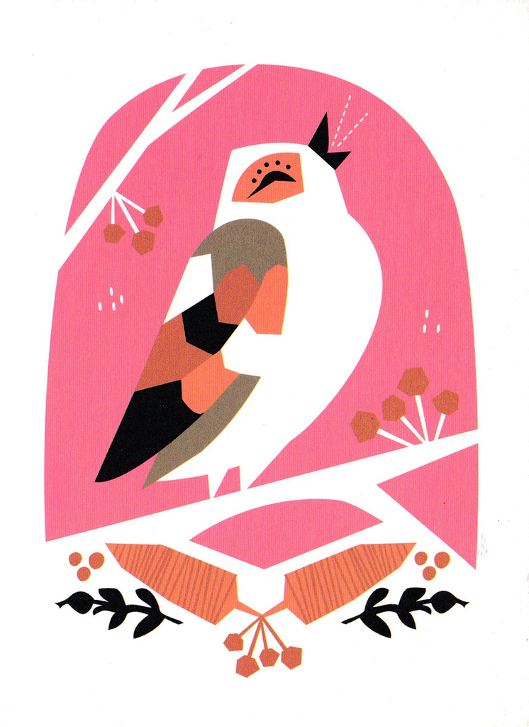 Little Wonder Greeting Card: Bird