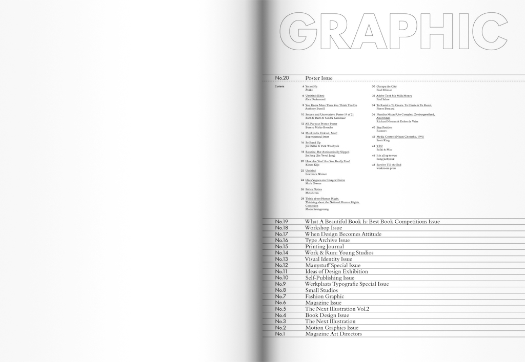 Graphic Texts: Issues 1-20 (2007-11)