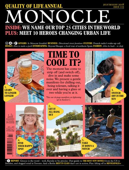 Monocle Magazine #115 Vol. 12 August '18