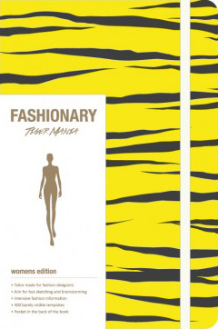 Fashionary A5 Sketchbook Tiger Mania (Yellow)