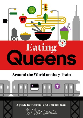 Queens Map: Eating Queens Around The World on 7 Trains