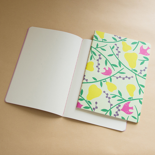 Scandinavian Design Notebook by Yurio Seki: Forest Plain