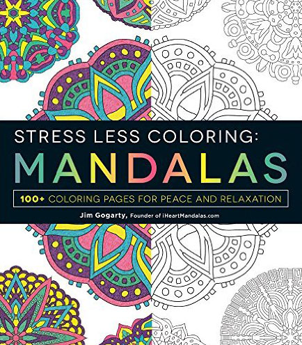 Stress Less Colouring: Mosaic Patterns