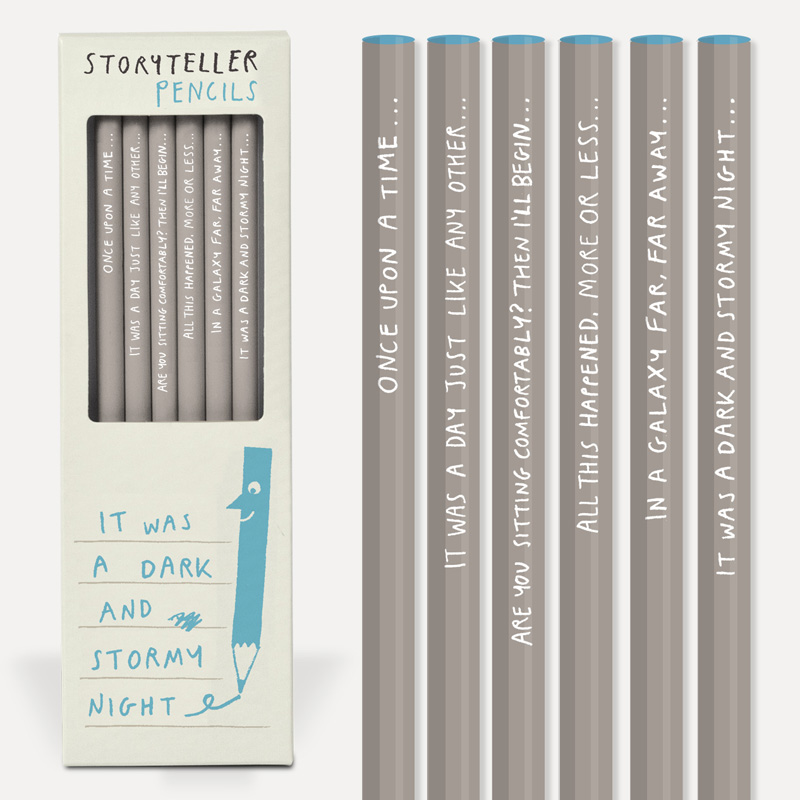 Pencil Set: Sharp & Blunt: Storyteller