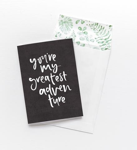 Emma Kate Co Greeting Card: My Greatest Adventure