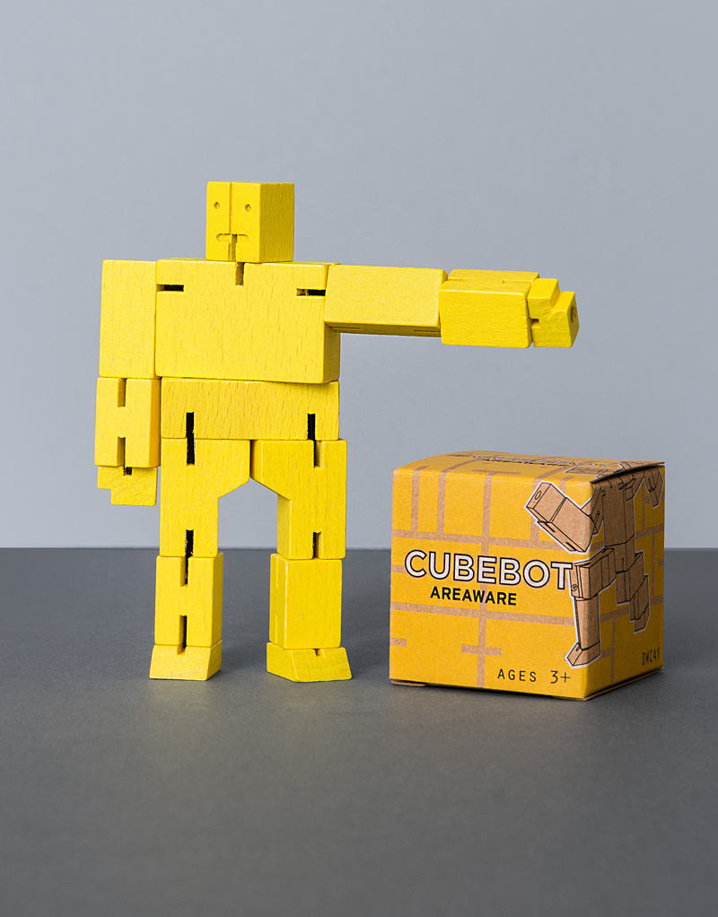 Cubebot Micro: Yellow