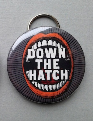 Herb Lester Bottle Opener: Down The Hatch