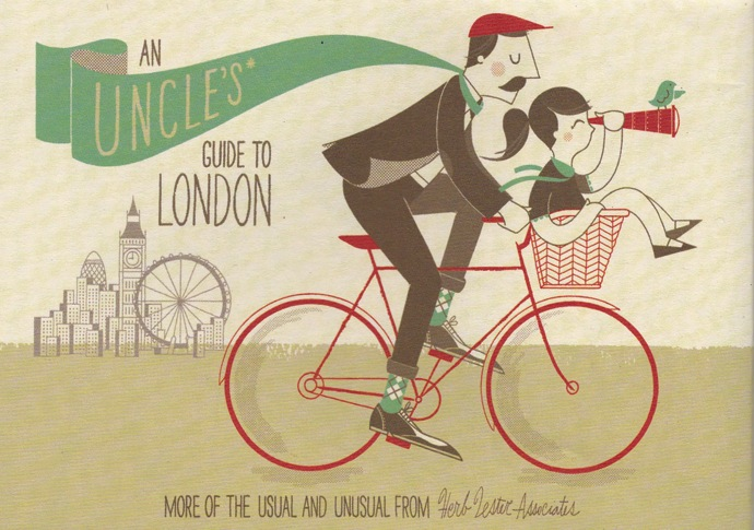 London Map: An Uncle's Guide To London