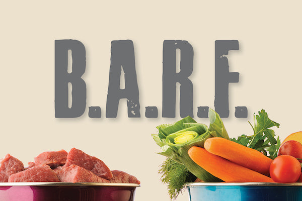 B.A.R.F diet for dogs