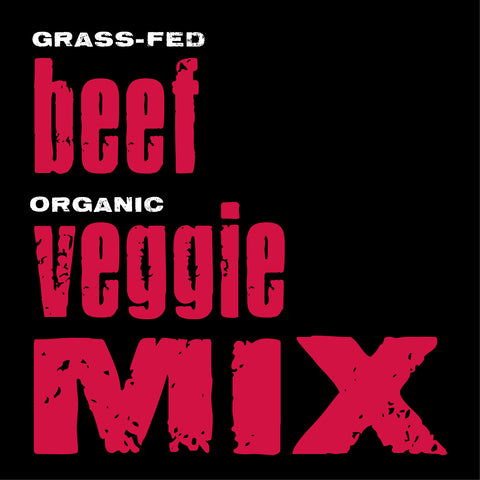 Beef with Organic Veggies Mix, 20-lb. box