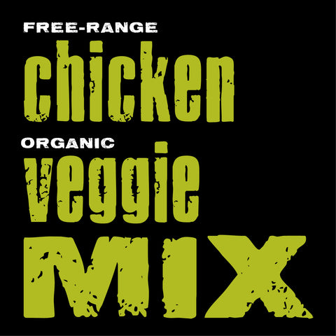 Chicken with Organic Veggies Mix, 20-lb. box