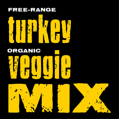 Turkey with Organic Veggies Mix, 20-lb. box