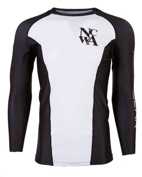 NCWA Gear Long Sleeve Compression Shirt