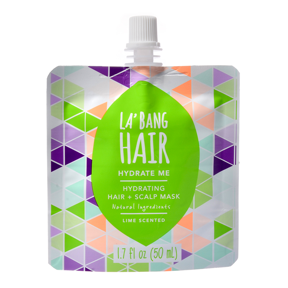 Hydrate Me hair Mask -  Lime & Raspberry  2 x 50ml