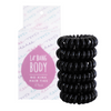 NEW No Kink Hair Ties - Black x 6