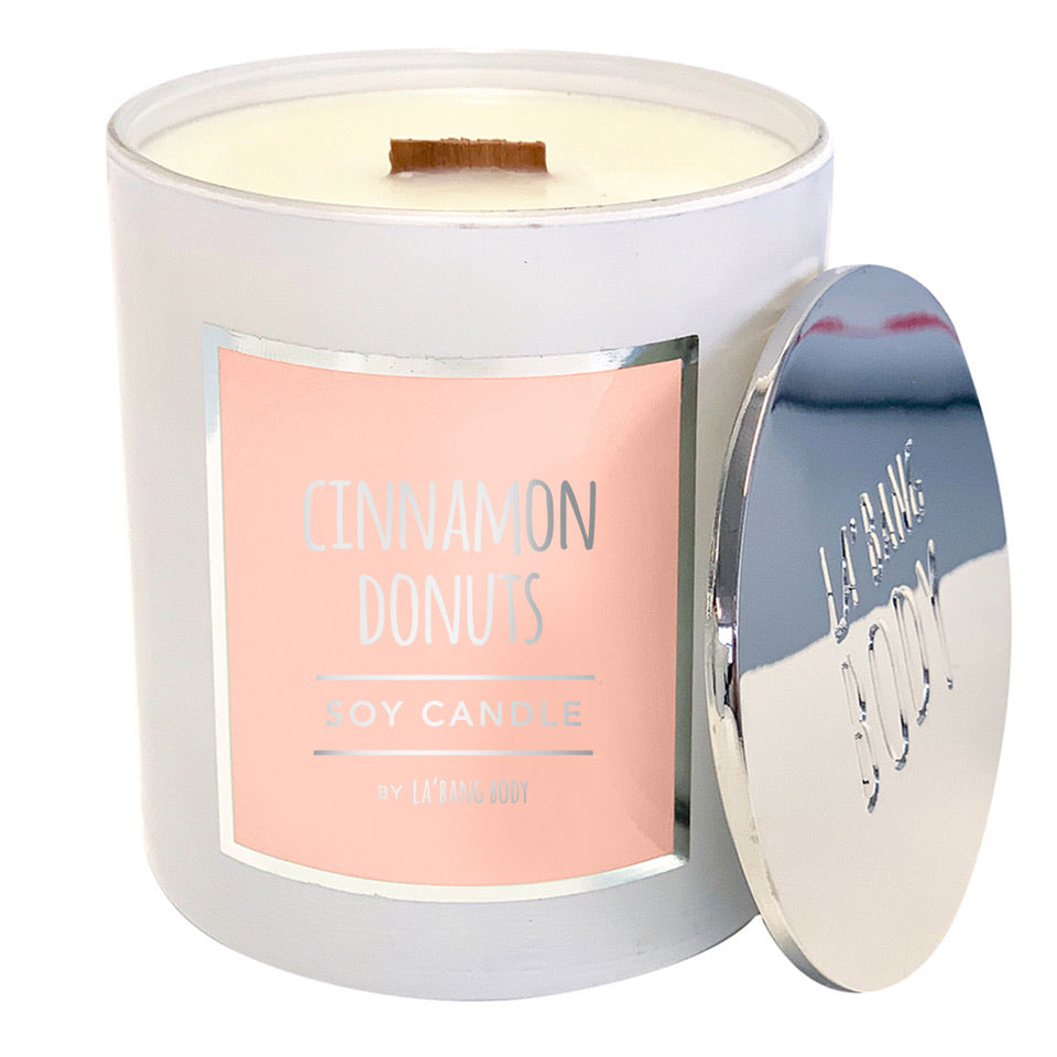 Wood wick  - Limited Edition - Cinnamon Donuts