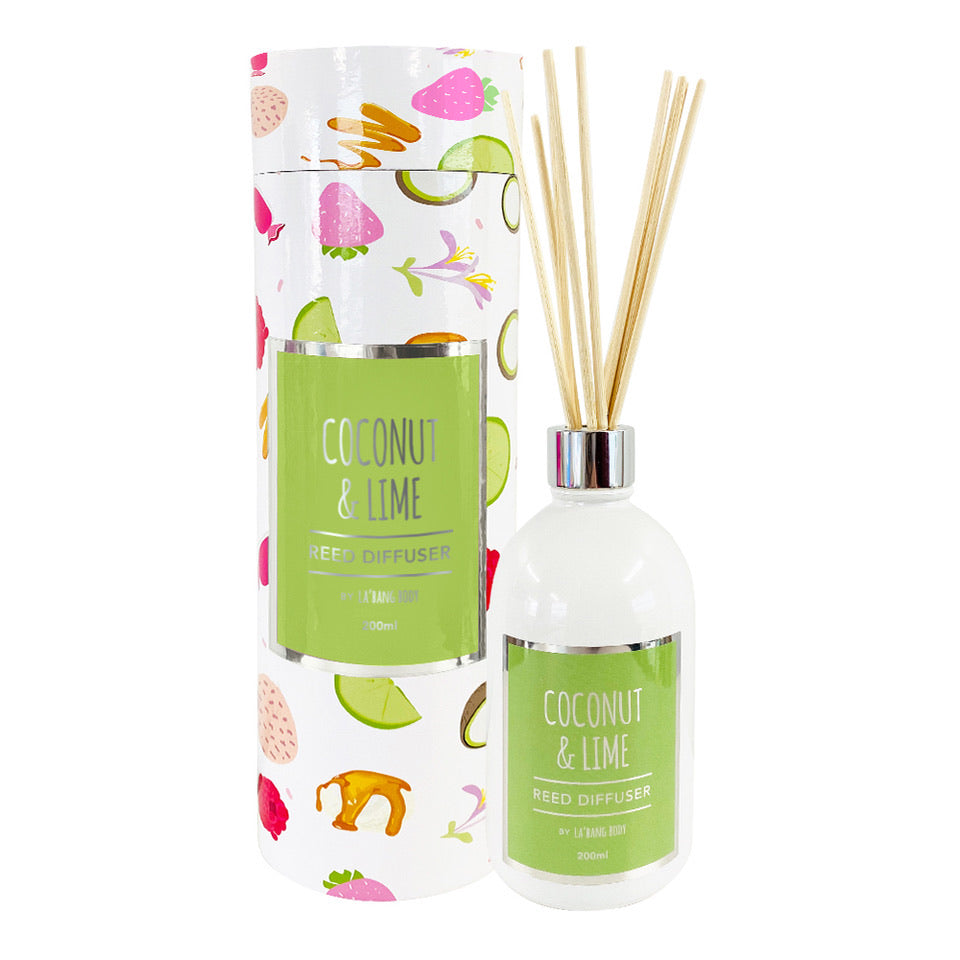 Reed diffuser - Coconut & Lime - 200ml