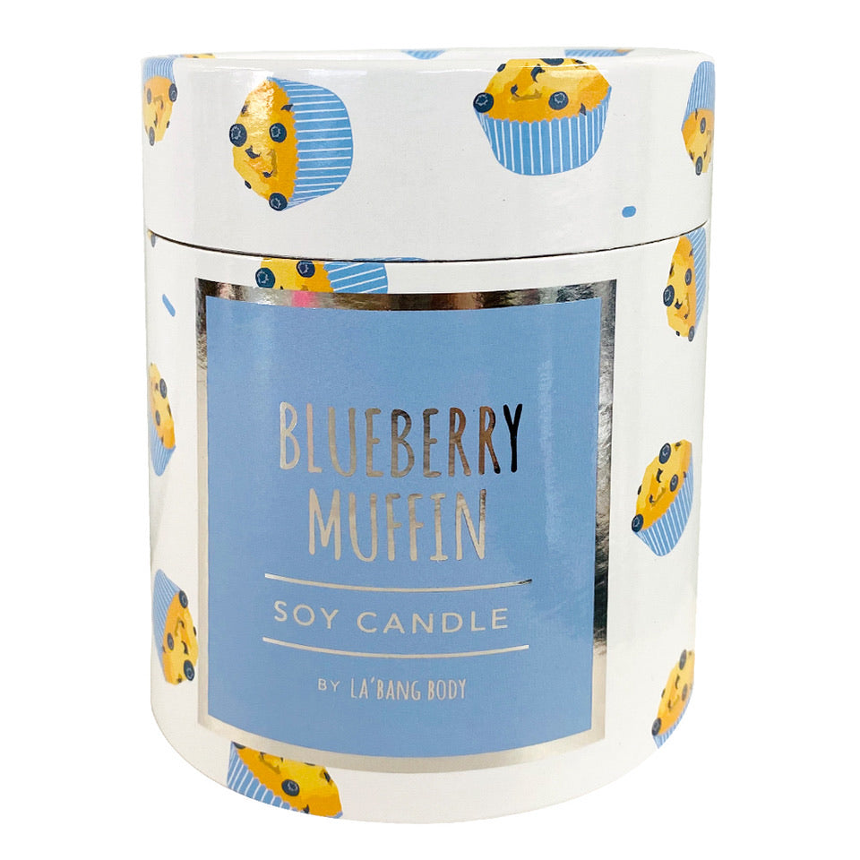 Woodwick Candle - Blueberry Muffin